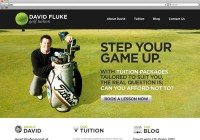 Thumnail of David Fluke Golf Tuition